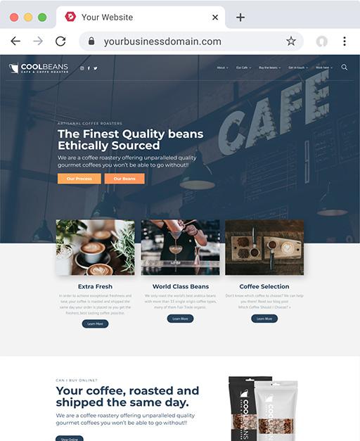 Cool Beans Website